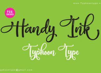 Handy Ink Font