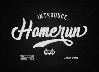 Homerun Font