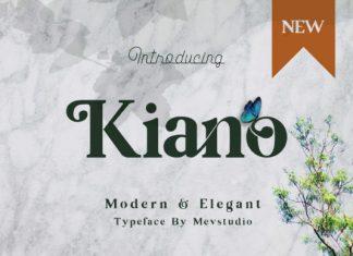 Kiano Font