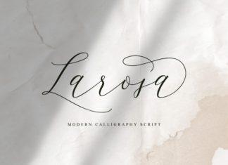 Larosa Font