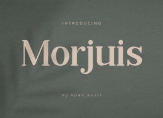 Morjuis Font