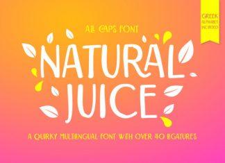 Natural Juice Font