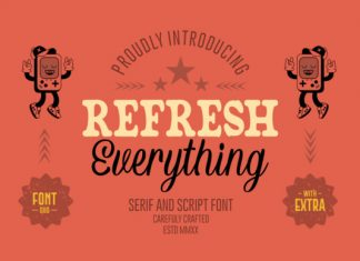 Refresh Everything Font