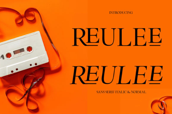 Reulee Font