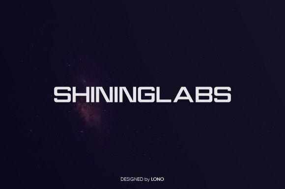 Shininglabs Font