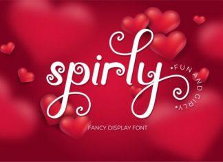 Spirly Font