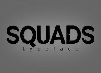 Squads Font