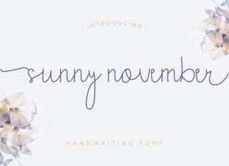 Sunny November Font