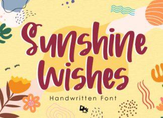 Sunshine Wishes Font