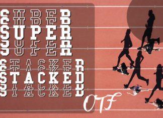 Super Stacked Font