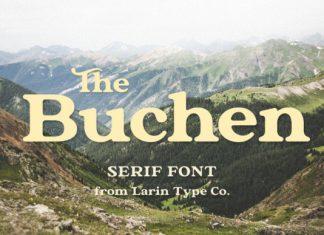 The Buchen Font