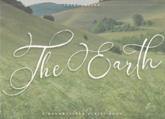 The Earth Font