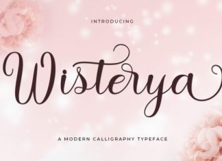 Wisterya Font