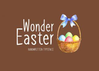 Wonder Easter Font