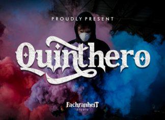 Quinthero Font