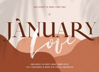 January Love Font