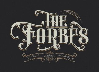 FORBES Font