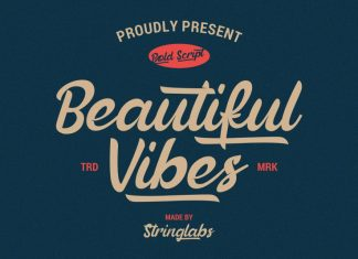 Beautiful Vibes Font