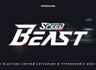 SpeedBeast Font