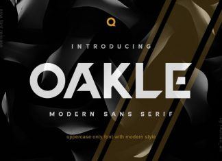 Oakle Font