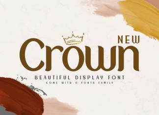 New Crown Regular Font