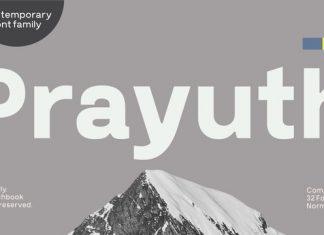 Prayuth Font
