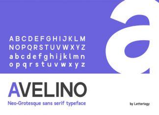 Avelino STD Font