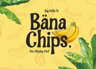 Bana Chips Font