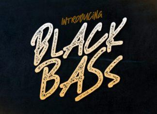 Black Bass Font