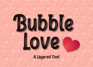 Bubble Love Font