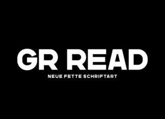 GR Read Font