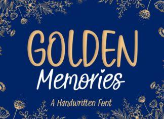 Golden Memories Font