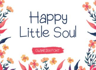 Happy Little Soul Font