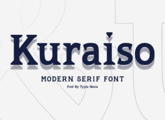 Kuraiso Font