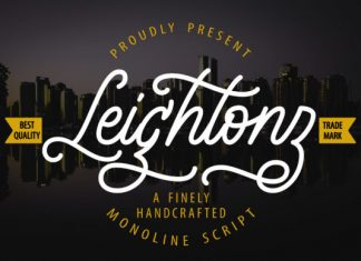 Leightonz Font