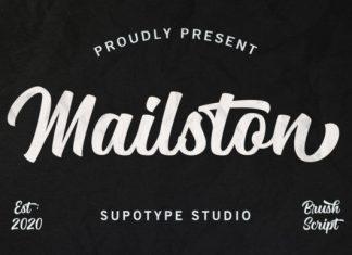 Mailston Font