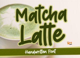 Matcha Latte Font
