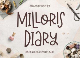 Milloris Diary Font