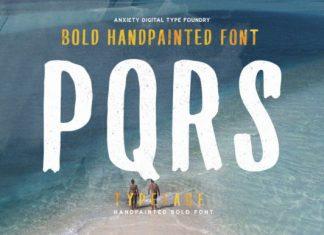 PQRS Font