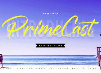 PrimeCast Font