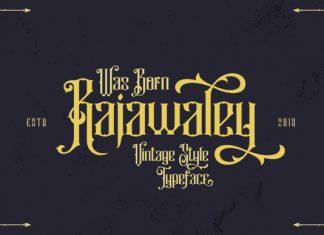Rajawalley Font