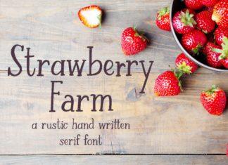 Strawberry Farm Font