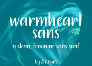 Warmheart Font