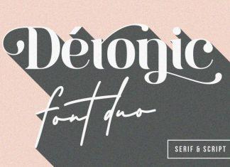 Deronic Font