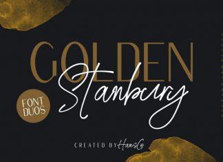 Golden Stanbury Font