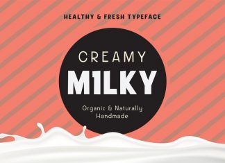Creamy Milky Font