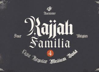 Rajjah Familia Font